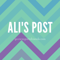Ali's Blog Post